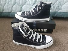 Converse All Star High Top Ladies/Mens Unisex Canvas Shoes Trainers Size 6 Boxed