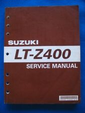 2003 Suzuki LT-Z400 Original Factory Service Shop Repair Manual