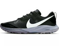 Nike Air Zoom Terra Kiger 5 Running Shoes Black / Gunsmoke Sz 8 Mens AQ2219-001