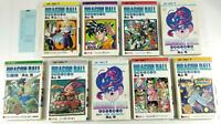 Manga Dragon Ball en Japonais  Lot de 9 tomes 33 et 35 a 42  Premiere Edition