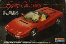 Monogram 1:24 Ferrari Testarossa Convertible Plastic Model Kit #2782U
