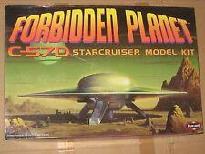 1/72 SCALE FORBIDDEN PLANET C-57D by Polar Lights OPEN BOX