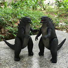 2 x 17cm Godzilla Action Figures Kids Child Boy Display Figurines Play Set Toy