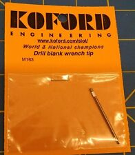 Koford M163 Drill Blank Wrench Tip 1/24 slot car Mid-America