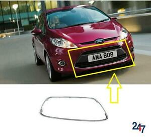 FRONT BUMPER GRILLE CHROME FRAME MOLDING FD3442305 FOR FORD FIESTA MK7 08-12