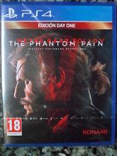 Metal Gear Solid V The Phantom Pain Edición Day One PS4 Nuevo Acción PAL España.