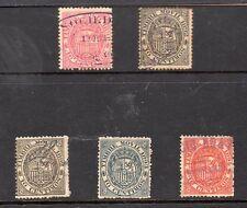 España Valores Fiscales postales del año 1891-94 (CK-167)