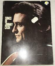 The Songs of Johnny Cash 1970 1st Edition Songbook Softcover Book New NOS