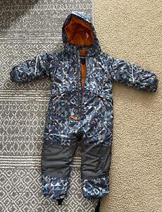 kids Toddler Baby Boy Girl Patagonia snow Ski bib Used 1 Time Size 2t
