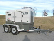 2014 Wacker G120 KVA Generator 60 Hertz, Low Hours!! DCA120