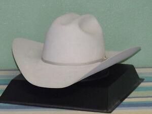 RESISTOL 15X DIAMOND HORSESHOE COWBOY WESTERN HAT