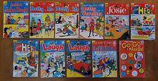 Archie Betty Veronica Jughead Josie Captain Hero Joke Book Laugh Lot of 11
