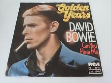 DAVID BOWIE GOLDEN YEARS c/w CAN YOU HEAR ME P/S Germany 7 Inch