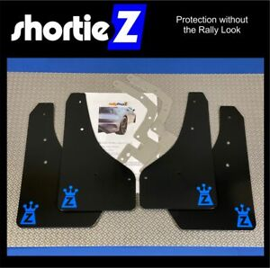 *ShortieZ Mudflaps & Fixings to fit Ford Focus Mk3 ST250 Black 4mm Satin PVC Z-N