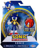 Sonic the Hedgehog ~ SONIC (WAVE 1) ACTION FIGURE w/BENDABLE ARMS & LEGS