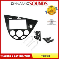 Double Din Stereo Fascia Panel Adaptor For FORD Focus 1999 - Jan 2005 CT22UV01