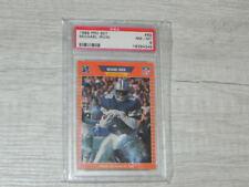 MICHAEL IRVIN ROOKIE CARD PSA MT 8 OFFICIAL NFL RC CARD