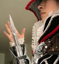 Assassin's Creed III Cosplay Ezio Hidden Blade Auditore Gauntlet Replicas gift