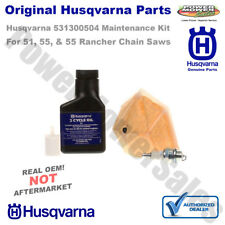 Husqvarna Maintenance Kit for Model 51 and 55 Rancher Chainsaws