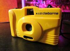 Vintage Liz Claiborne 35mm Yellow Camera - Excellent