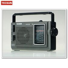 TECSUN AM/FM//SW Portable Radio Receiver -Tuning knob easy to use High quality