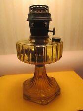 AMBER ALADDIN OIL LAMP~~CORINTHIAN 1935-1936