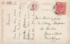 Genealogy Postcard - Family History - Bedingfeld? - Brentford - Middlesex  GN871