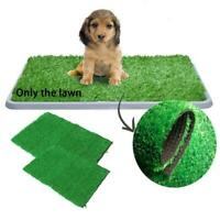 2Size Puppy Potty Trainer Indoor Training Toilet Pet Pad Mat Pee Grass H5Q6 S8B4