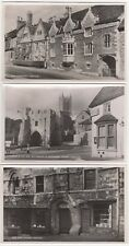Lincoln, Lincolnshire: Set of 6 RP Postcards + Envelope by Tradition Series A