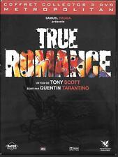 COFFRET 3 DVD ZONE 2 DIGIPACK COLLECTOR--TRUE ROMANCE--SCOTT/ARQUETTE