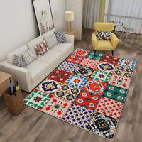 Bohemian Non-slip Area Rug Floor Mat Carpet Living Room Home Decor Waterproof