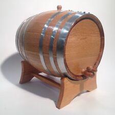 Premium Wooden Oak 20L Barrel-STEEL HOOP-Wine,Port,Rum,WhiskyFREE TEXT ENGRAVING