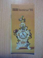 DDR Taschenkalender kolibri terminus 90 / Kalender,1990,mit Gedenktage