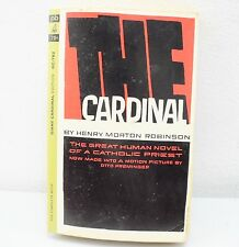 The Cardinal By Henry Morton Robinson (1964) Paperback