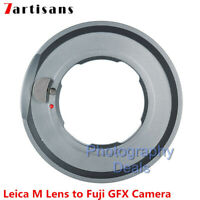 7artisans LM to GFX Adapter For Leica M Mount Lens to Fuji GFX Mount Camera