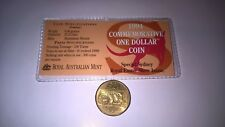 "1994 Commemorative $1 Dollar Coin ""S'' Special SYDNEY ROYAL EASTER SHOW ISSUE"