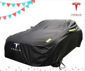 Tesla car cover Special sunscreen rain protection Waterproof car cover 2021
