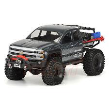 PRO-LINE Chevy Silverado Clear Body Axial SCX10 Trail RC Cars Crawler #3439-00