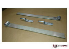 "2 x Trailer Straight Hinge & Gudgeon Pin Tailgate Set Truck Tipper 18"" Bolt on"