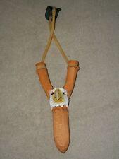 carved animal EAGLE SLING SHOT rubber slingshot youth hunter hunt FREE SHIPPING