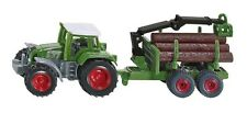 BRAND NEW - SIKU - 1645 - TRACTOR WITH FORESTRY TRAILER - GREAT GIFT IDEA