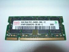 Barrette mémoire HYNIX 2 GO SO-DIMM DDR2 PC2 6400S