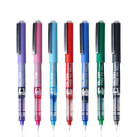 7Color 0.5mm Medium Gel Pen Color Ink Rollerball Pen Business Office School Gift