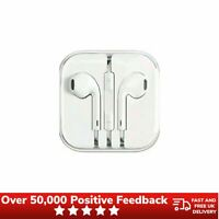 Genuine Apple Earpods 3.5mm Connector MNHF2ZM/A Earphones With Mic - White