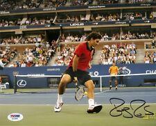 Roger Federer Wimbledon Tennis Signed Auto 8x10 PHOTO PSA/DNA COA