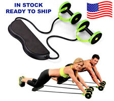 Ab Roller Abdominal Exercise Gym Fitness Home Body Abs Workout Resistance Crunch