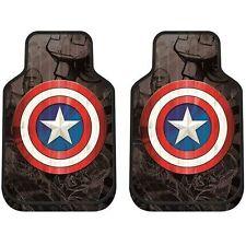 Marvel Captain America Shield Plasticlear Front Floor Mats 2PCS Set