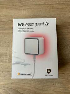 Eve Water Guard Smarter Wassermelder 100dB iPhone HomeKit - NEUWERTIG