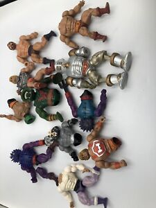 Motu Limbs Parts Lot Head Torso Body Arms Leg He-man Vintage Mattel Power Punch