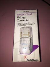 Radio Shack Foreign Travel Voltage Converter 50 watt 273-1412